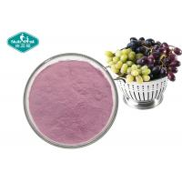 100% Pure Natural Fruit And Vegetable Powder , Soluble Purple Grape Juice Powder Manufactures