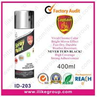 China Captain Chrome Effect Spray Paint 400ML on sale