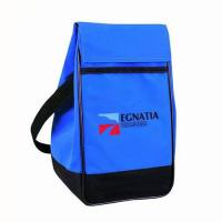 Custom Collapsible Insulated Cooler Bags Triangular Waterproof Nylon For Women Manufactures