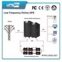 Quality LCD Display 3 Phase Input 3 Phase Output Low Frequency Online UPS for sale