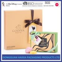 Colorful Printing Rigid Gift Boxes Chocolate / Candy Packaging Boxes Handmade Manufactures