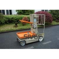 China 3.1 Meter Self Propelled Electric Work Platform Lifts For Cargo Handling on sale