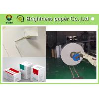Antistatic C2s White Back Duplex Board 350gsm Paper For Clothes Label Manufactures