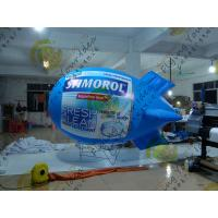 Big PVC Trade Show Helium Blimps Fire Resistant Durable Colorful Manufactures
