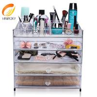 China 2014 New Style Wholesale Acrylic Makeup Organizer With Drawers on sale