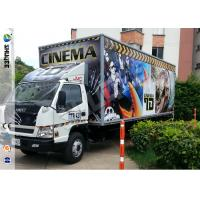 Convenient Truck Mobile 5D Movie Theater 5D Mobile Cinema For Everywhere Manufactures