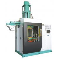 Vertical Silicone Rubber Injection Molding Machine , 400 Ton Rubber Stopper Injection Machine 4000cc Volume Manufactures