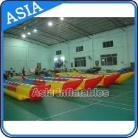China Water Sleds Banana Inflatable Boats Heavy Duty For 6 Passengers Water Games on sale