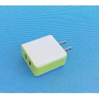 China Level 6  5V 2.1A  dual  usb charger  UL CE FCC ROHS GS PSE SAA EMC LVD  certificate on sale