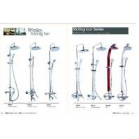 Single Handle Shower Bar Faucet With Chrome Manufactures