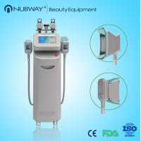 Cooling temperature -15 ~ 5℃ rf energy 1 - 50J/cm2 cryolipolysis body slimming machine Manufactures