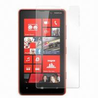 Crystal Clear Screen Protector, Suitable for Nokia Lumia 820, Made of PET Material, Easy to Install Manufactures