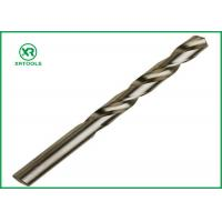 Bright Finish HSS Drill Bits For Hardened SteelDIN 338 Straight Shank Left Hand Manufactures