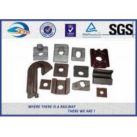 China Iron Steel KPO Crane Rail Clip TUV , Guide Rail Binder Plate on sale
