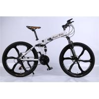 Factory price OEM 6 spoke mag alloy wheel Shimano 21/24/27/30 speed aluminium alloy chinese folding MTB bicycle Manufactures