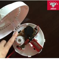 New wireless fire alarm smoke detector with 85dB sound and flash alarm Manufactures