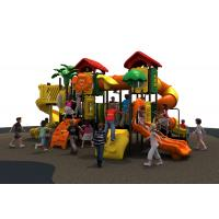 Lldpe Plastic Kids  Outdoor Playground Equipment With 1090*770*480cm Manufactures