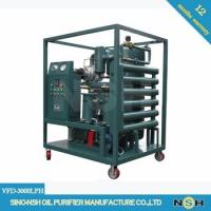 China Dielectric Transformer Oil Purifier Dehydration Degassing Regeneration Power Maintenance on sale