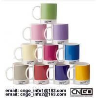 GIFTS cup PANTONE colors mug to your friend NO.54577 from china factory Manufactures
