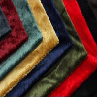 Tear - Resistant Composite Fabric Short Pile Plush Fabric 300d/576f Yarn Count Manufactures