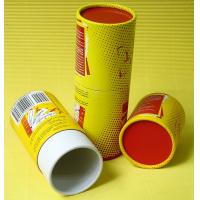 OEM / Custom Telescopes Style Rigid Play Cards Paper Tube Packaging with Full Printing Manufactures