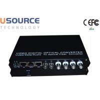 720P 1080P 1 - 16 Channel Fiber Optical Audio Video Digital Converter Manufactures