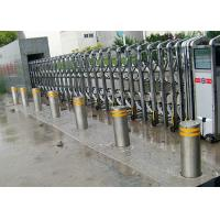 Hydraulic Driven Rise Retractable Bollard Solutions For Car Entry Control Manufactures