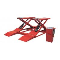 Low Profile Two Post Hydraulic Auto Lift , 3t Electric Scissor Lift Table