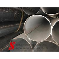 Cold Finished Welded Steel Pipe , Scaffolding Steel Pipe ASTM / DIN Standard Manufactures