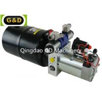 China DC 12V 210Bar Horizontal Mounting Hydraulic Power Unit for Sideloader Trucks on sale