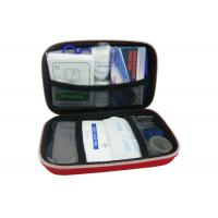 Portable International Travel Medical Kit For Airplane / Vehicle Manufactures