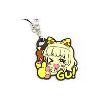 Fashionable PVC Rubber Keychain Custom 3D Effect Promotional Giveaways Manufactures