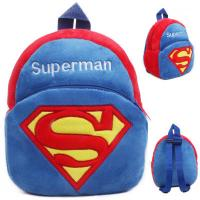 Lovely Cartoon Superman Kids School Backpacks Personalized For Promotion Gifts Manufactures
