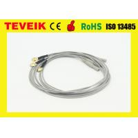 China Medical electrode eeg cable Din 1.5 eeg hat cable with nickel plated copper on sale