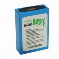 LiMnO2 Battery with 3.7V Voltage, 4Ah Rated Capacity and Prismatic Cell for Miner Headlamp Manufactures