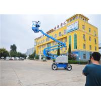 Buy cheap Mobile Self Propelled Boom Lift Rough Terrain User Friendly Ergonomic from wholesalers
