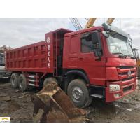China Howo 8x4 Second Hand Dumper Truck , Mining Tipper Trucks Left Hand Drive on sale