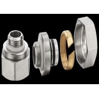 Zinc Plating Brass Threaded Fittings For Stainless Steel Water Manifold Manufactures
