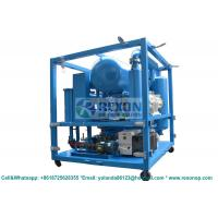 China Weather Proof Type Bipolar Vacuum Dielectric Oil Purifier Machine 12000Liters/Hour on sale