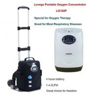 LoveGo Portable oxygen concentrator LG102P for 1-4.5 oxygen therapy/4 hours battery life with two batteries Manufactures