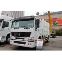 Sinotruck Howo 4 x 2 8L 8-12m3 Compacted Garbage truck Recycling Type Manufactures