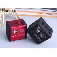 Residential Commercial Travel Power Adapter Five Colors Option Plug With Socket Manufactures