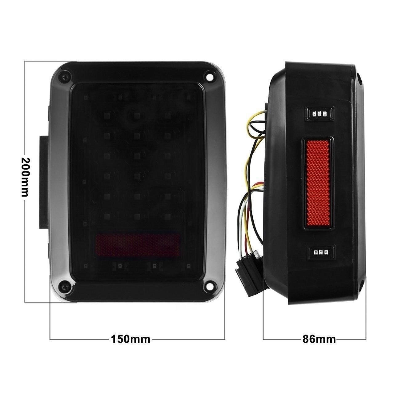 China Newest USA And European Version LED Brake Light , Led Tail Lights For Jeep Wrangler on sale