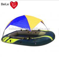 Rigid hull Inflatabable boat with tent for sale Manufactures