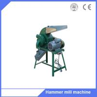 Animal poultry feed corn grain wheat hammer mill grinding machine for sale Manufactures