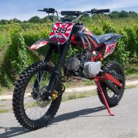 125cc Middle Size Dirt Bike Motorcycle Electric / Kick Start With Manual Clutch Manufactures