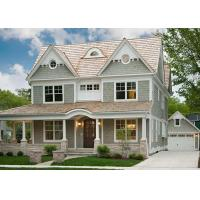 Environmentally   Light Steel Villa , Luxury Family Modern Steel Structure Homes Manufactures