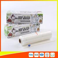 Microwave Safe PE Biodegradable Cling Film Roll Clear For Food Wrap