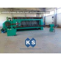 Heavy Duty Hexagonal Wire Mesh Machine 4300mm Max Width Gabion Machine Manufactures