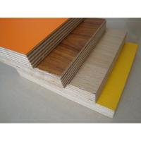 hot sale melamine plywood/ Furniture grade 18mm plywood with melamine finish/ Green color eucalyptus core PVC coated Manufactures